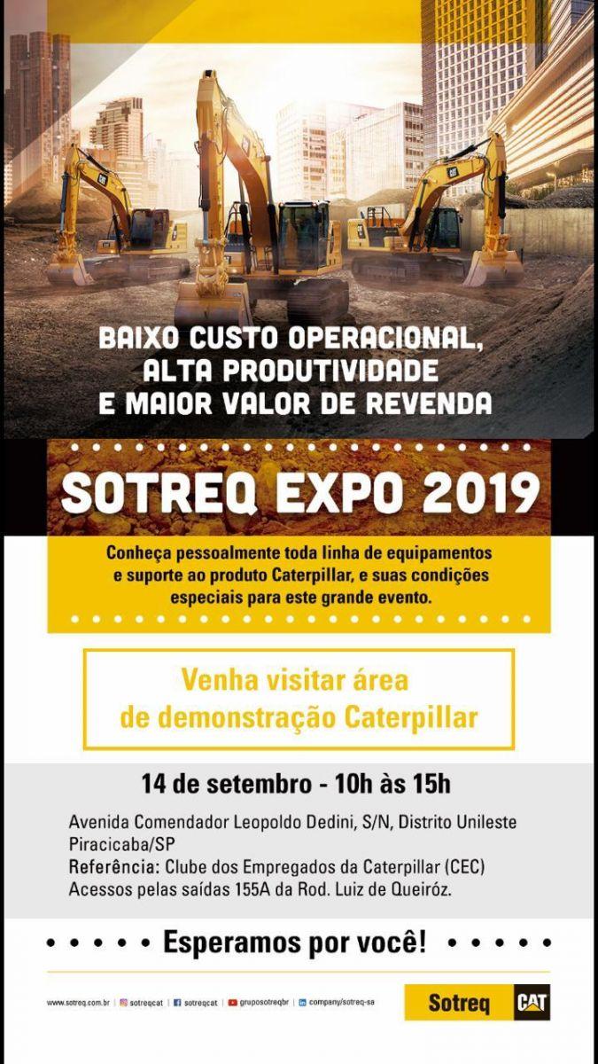 VEM AÍ… SOTREQ EXPO 2019