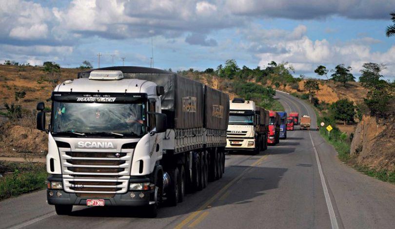Demanda por frete rodoviário no agronegócio tem aumento de 4,3%