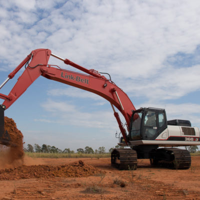 escavadeira-link-belt